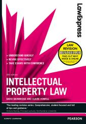 Law Express: Intellectual Property Law: Edition 4