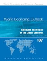 World Economic Outlook  April 2007  Spillovers and Cycles in the Global Economy PDF