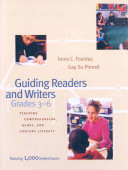 Guiding Readers and Writers  Grades 3 6 Book