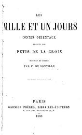 Les mille et un jour: contes orientaux