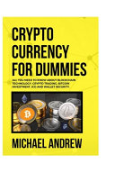 Cryptocurrency For Dummies PDF