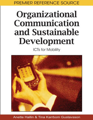 Organizational Communication and Sustainable Development  ICTs for Mobility PDF