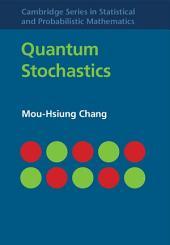 Quantum Stochastics