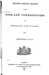 Annual Report of the Poor Law Commissioners for England and Wales: Volume 2