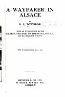 A Wayfarer in Alsace PDF