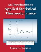 An Introduction to Applied Statistical Thermodynamics PDF