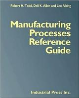 Manufacturing Processes Reference Guide PDF