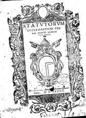 Statutorum ecclesiasticae terrae Sancti Genesii volumen