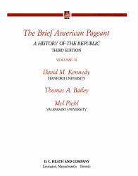 The Brief American Pageant Book PDF