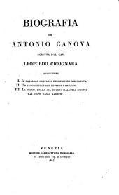 Biografia di Antonio Canova