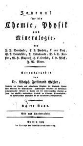 Journal für die Chemie, Physik und Mineralogie: Band 8