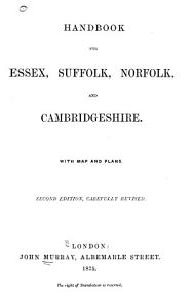 Handbook for Essex  Suffolk  Norfolk  and Cambridgeshire     PDF