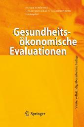 Gesundheitsökonomische Evaluationen: Ausgabe 4