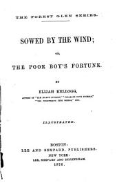 Sowed by the Wind: Or, The Poor Boy's Fortune