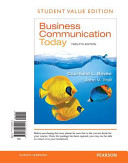 Business Communication Today  Student Value Edition PDF