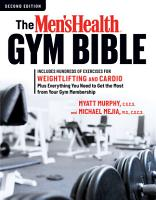 The Men s Health Gym Bible PDF
