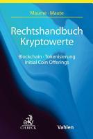 Rechtshandbuch Kryptowerte PDF