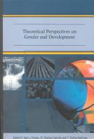 Theoretical Perspectives on Gender and Development PDF