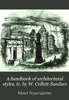 A handbook of architectural styles  tr  by W  Collett Sandars PDF