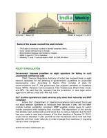 India Telecom Weekly Newsletter 08 13 10 PDF