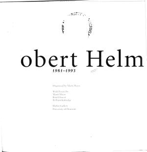 Robert Helm  1981 1993