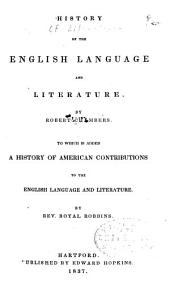 History of the English Language and Literature