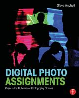 Digital Photo Assignments PDF