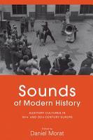 Sounds of Modern History PDF