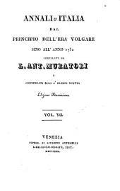 Annali d'Italia, dal principio dell'era volgare fino all'anno MDCCL.