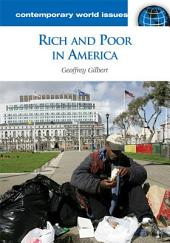 Rich and Poor in America: A Reference Handbook