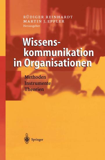Wissenskommunikation in Organisationen PDF