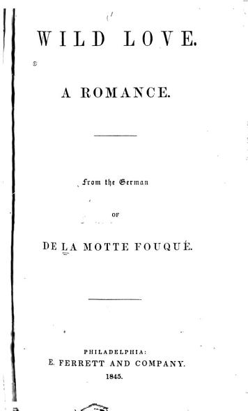 Download Wild Love Book