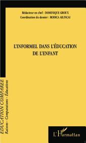L'informel dans l'éducation de l'enfant