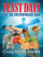 Feast Days for the Contemporary Mind PDF