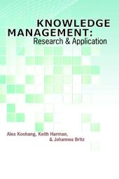 Knowledge management: research and application