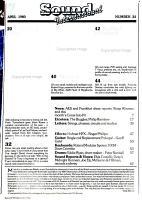 Sound International PDF