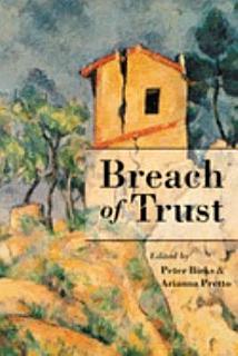 Breach of Trust Book