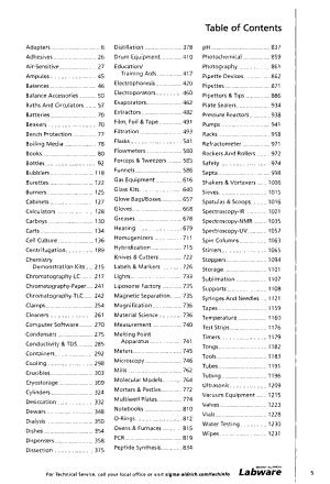 Sigma Aldrich Labware PDF