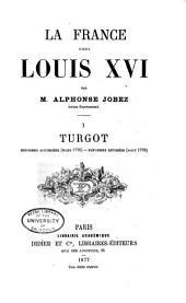 La France sous Louis XVI: Volume1