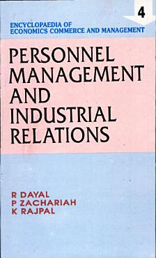 Personnel management and industrial relations PDF