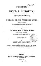 Principles of dental surgery
