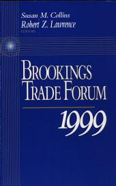 Brookings Trade Forum: 1999