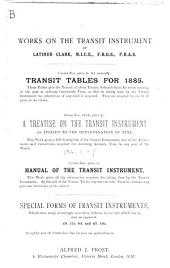 A Treatise on the Transit Instrument: As Applied to the Determination of Time, for the Use of Country Gentlemen