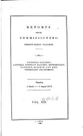 Parliamentary Papers, House of Commons and Command: Volume 21