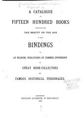 A General Catalogue of Books Offered to the Public at the Affixed Prices: Manuscripts and books relating to them. Science. Periodical literature. Romances of chivalry