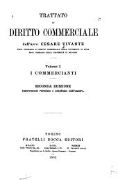 Trattato di diritto commerciale: Volume 1