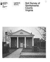 Soil Survey of Spotsylvania County, Virginia