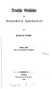 Deutsche Geschichte im neunzehnten Jahrhundert: Band 2