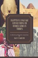 Egyptian language connections to other African tribes PDF