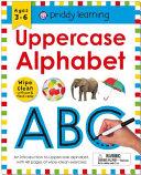 Wipe Clean Workbook  Uppercase Alphabet  enclosed spiral binding